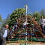 Bürgerstiftung fördert Spielspaß in den Bürener Almeauen