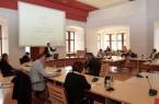 Zu einem Austausch über die Lernstatt Paderborn kamen am Montag die Leitungen der städtischen Grundschulen sowie der weiterführenden Schulen in das Historische Rathaus.Foto: © Stadt Paderborn