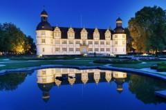 Das Schloss in Paderborns Stadtteil Schloß Neuhaus.Foto: © Falko Sieker