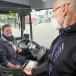 moBiel-Busse erhalten Trennscheibe