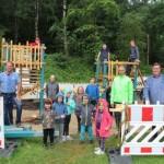 """Schüler konstruieren und bauen ein Spielgerät für die Kita """"Wilde Wiese"""""""