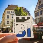Bielefeld-Aufkleber zum Arminia-Aufstieg
