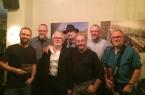 Barfly: Die Musiker-Crew um Gerry Spooner (Foto: privat)