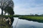 Bildtext: Die idyllische Landschaft entlang der Dalke wird mit dem Rad erkundet  (Foto: Gütersloh Marketing)