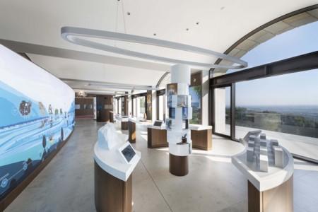 Blick in die Ausstellung des LWL-Besucherzentrums im Kaiser-Wilhelm-Denkmal. (Foto: LWL/Peter Hübbe)