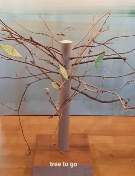 """tree to go"" (Foto: Tanja Smolka)"