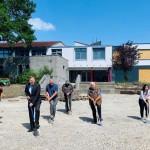 Neugestaltung Schulhof: Erster Spatenstich an  der Realschule
