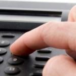 Bei Fragen: Hotline anrufen