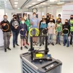 Schüler bauen 3D-Drucker für zuhause