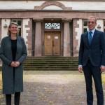 Regierungspräsidentin Judith Pirscher auf Antrittsbesuch im Höxteraner Stadthaus
