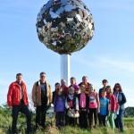 Ferienspiele mit Astronomie auf dem Planetenweg in Rietberg