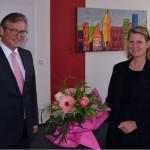 Neue Regierungspräsidentin zu Besuch in Paderborn