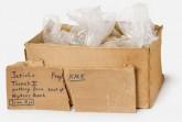 Kiste mit eisenzeitlichen Scherben der britischen Archäologin Kathleen Kenyon.Foto: Archäologisches Museum der Universität Münster/Nieswandt