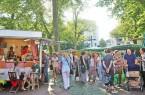 Solche Bilder vom Bielefelder Abendmarkt wird es dieses Jahr leider nicht geben. Foto: Bielefeld Marketing/Sarah Jonek