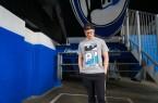 Arminia-BIE-Sticker jetzt als Fan-Shirt. Foto: Bielefeld Marketing