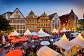 """""""Der Weinmarkt in Bielefeld könnte durch einen alternativen Gastronomie-Markt ersetzt werden.""""  Foto: Bielefeld Marketing/Sarah Jonek"""