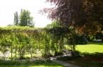 Der Dufttunnel im Botanischen Garten.Foto: Stadt Gütersloh