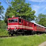 Historische Elok E22 rollt als Barbecue-Express durch Nordlippe