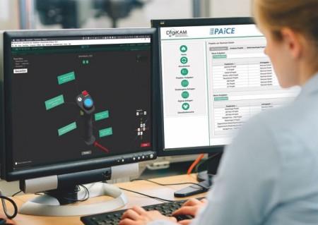 Auf der DigiKAM-Plattform entwickeln Experten und Anwender gemeinsam 3D-gedruckte Bauteile. Foto: Fraunhofer IEM