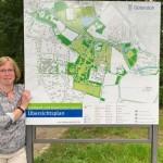 Standortbestimmung: neue Tafeln für den Stadtpark