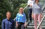 Bilden die neue BMBF-Nachwuchsgruppe am Heinz Nixdorf Institut: v. l. M. Sc. Michael Hesse, M. Sc. Ricarda Götte, M. Sc. Annika Junker und Dr.-Ing. Julia Timmermann.Foto :Heinz Nixdorf Institut der Universität Paderborn