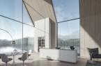 Die SieMatic SLX bereichert eigenständige Architekturkonzepte.
