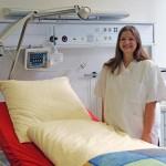 Pflegestudierende erproben den Ernstfall
