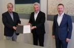 Bescheidübergabe: 2,8 Millionen Euro für Brakel. Foto: Stadt Brakel