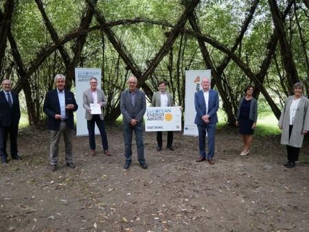 Verleihung des eea 2020 in Rheder. Foto: Stadt Brakel