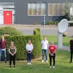 Sieben junge Menschen starten bei ASSMANN Büromöbel ins Berufsleben