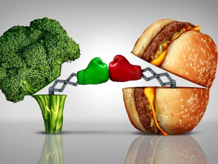 Brokkoli vs. Burger