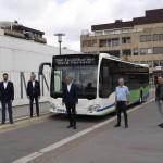 Hybridbusse in Minden