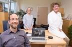 Therapie online – Das Team vom Bad Driburger Adipositaszentrum bietet jetzt auch Kurse als Video-Seminar an (von links): Psychologe Adrian Pawelczyk, Ernährungsberaterin Helmtrud Drude und Chefarzt Dr. Florian Dietl.