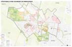 Grafik vom Stadtbezirk Minderheide, für den ein städtebaulicher Rahmenplan erstellt wird .(Bildnachweis: Planungsbüro BJP.