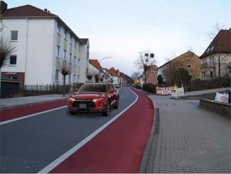 Straße in Lübbecke