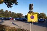 Die Parkplätze am Marktplatz sind aufgrund des Aufbaus des Michaelisparks ab Freitag, 25. September bis Donnerstag, 15. Oktober, gesperrt.Foto: Stadt Gütersloh.