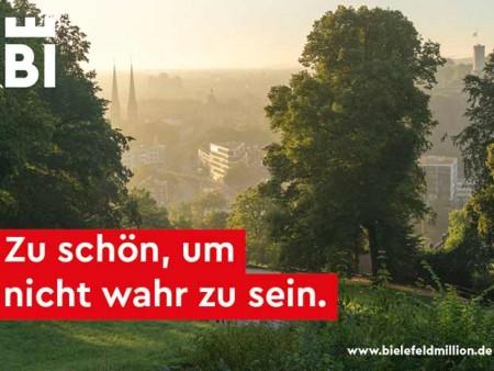 Die Kampagne wurde von Bielefeld Marketing und der Agentur Medium umgesetzt. Foto: © Bielefeld Marketing