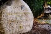 """""""Zum Finale der Kampagne wurde in der Altstadt ein Gedenkstein an das Ende der Bielefeld-Verschwörung aufgestellt."""" Foto: © Bielefeld Marketing"""