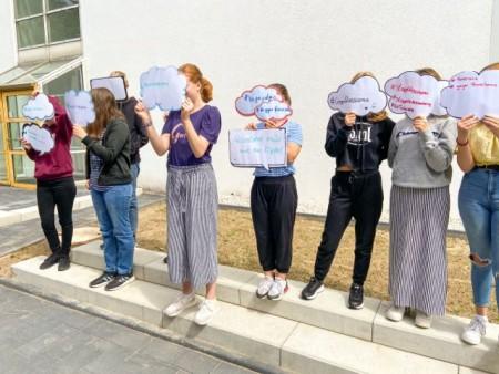 Im MyHistoryCamp gehen Jugendliche auf Spurensuche in die NS-Vergangenheit und setzen sich mit der Frage auseinander, wie sich Rassismus und Diskriminierung heute äußern. Foto: Haus Neuland