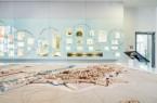 Multimediales Stadtmodell und Schaufenster zur Stadtgeschichte im Mindener Museum. © Mindener Museum