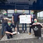Erfolgreiche T-Shirt-Aktion: 2.037 Euro für die GWD Jugendabteilung