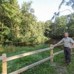 Landesverband Lippe schafft im Extertal Lebensraum für Amphibie