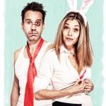 """Comedy-Schauspiel """"Zweikampfhasen"""" im Theater im Park"""