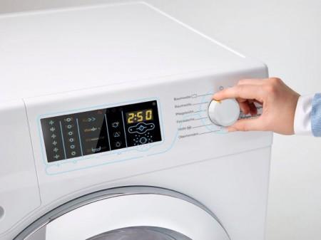 """Mit dem Sonderpreis """"Focus Open Meta"""" wurde in diesem Jahr die Miele Waschmaschine W1 Classic GuideLine für blinde und sehbehinderte Menschen prämiert.Foto: Miele"""