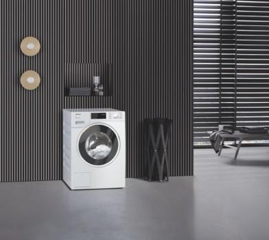 Die Miele-Waschmaschine WWD 320 WPS ist Testsieger bei der Stiftung Warentest. Sie erhält Bestnoten bei Handhabung und Umwelteigenschaften und hat die geringsten Betriebskosten im Nutzungszeitraum.Foto: Miele
