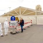 Testzentrum in Lemgo startet den Betrieb