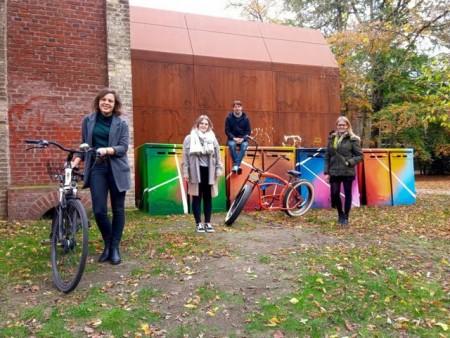 Radboxen für Güterslohs Fahrradfahrer© Gütersloh Marketing GmbH