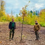 Bürger pflanzen ihren Bürgerwald