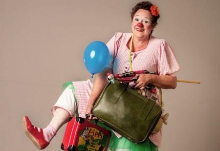 Clownin Anne Schwede gehört zu den Künstler*innen, die durch den Paderborner Kultur-Soli gefördert werden..Foto: © Stadtmuseum Paderborn