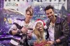 """Magische Weihnachtsshow mit Hygienekonzept: Die """"Ehrlich Brothers"""" Chris und Andreas Ehrlich begeistern am 28. und 29. November diesen Jahres um jeweils 15.30 und 20.00 Uhr mit ihrer Zauber-Vorstellung """"LET IT SNOW"""" die Besucher in der ostwestfälischen OWL ARENA. © Ehrlich Entertainment"""
